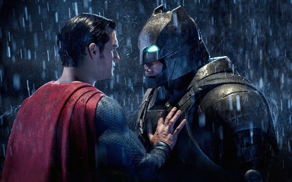 Artwork from Batman v Superman: Dawn of Justice, courtesy Warner Brothers